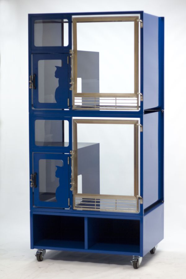 Modular Cat Cages for Shelters