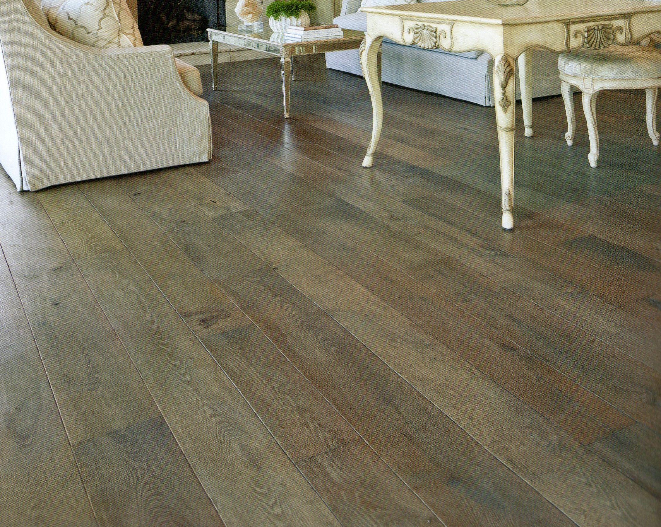 Grey Wood Floors  Project The Virginia House  Pinterest