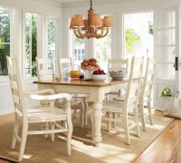 Tables & Chairs Sumner Pottery Barn Extending Kitchen