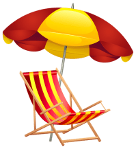 Beach Chair and Umbrella PNG Clip Art Image | aaaaaaaa ...