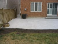 cement patio designs | My Concrete Patio and Walkway ...