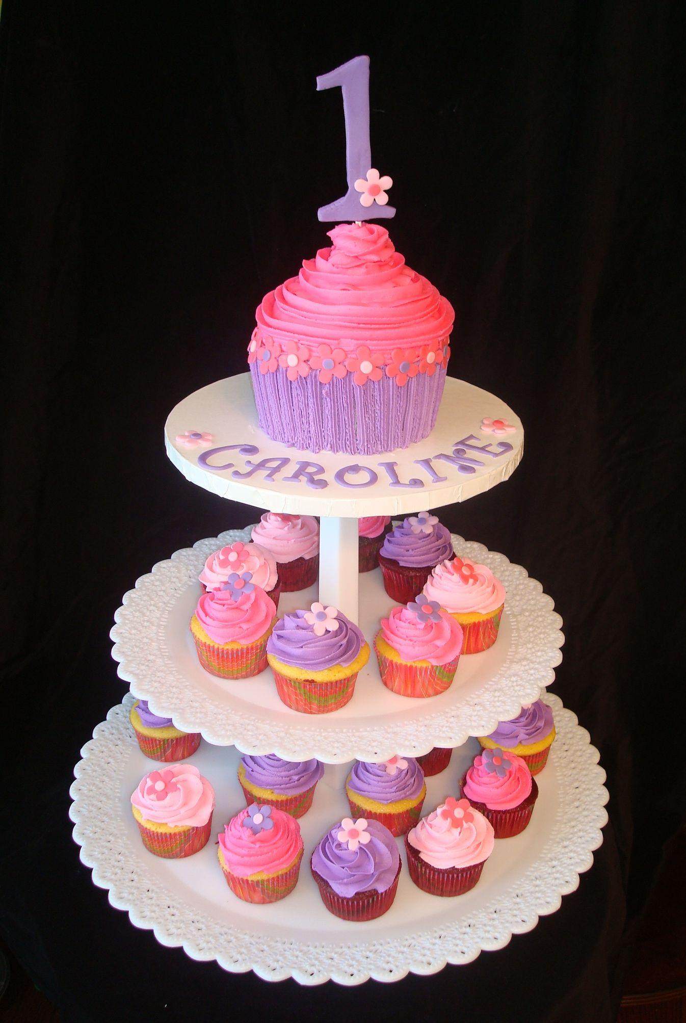 Cupcake Theme 1st Birthday