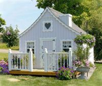 Outdoor Playhouse for Kids: Cottage Kids Outdoor Playhouse ...