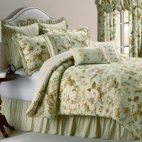 Williamsburg Grandiflora Magnolia Floral Comforter Bedding ...