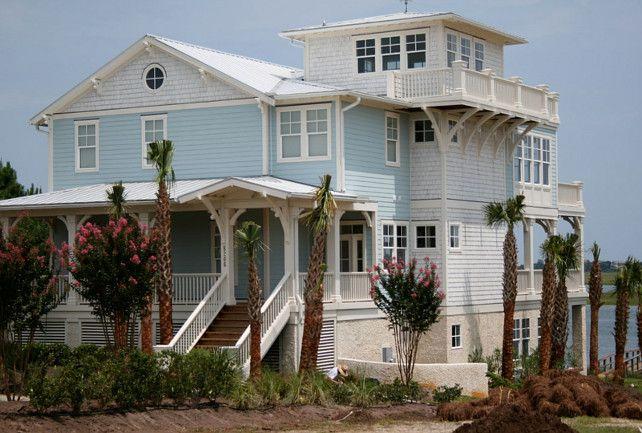 Turquoise Beach House Beach House Exterior Beach House Exterior