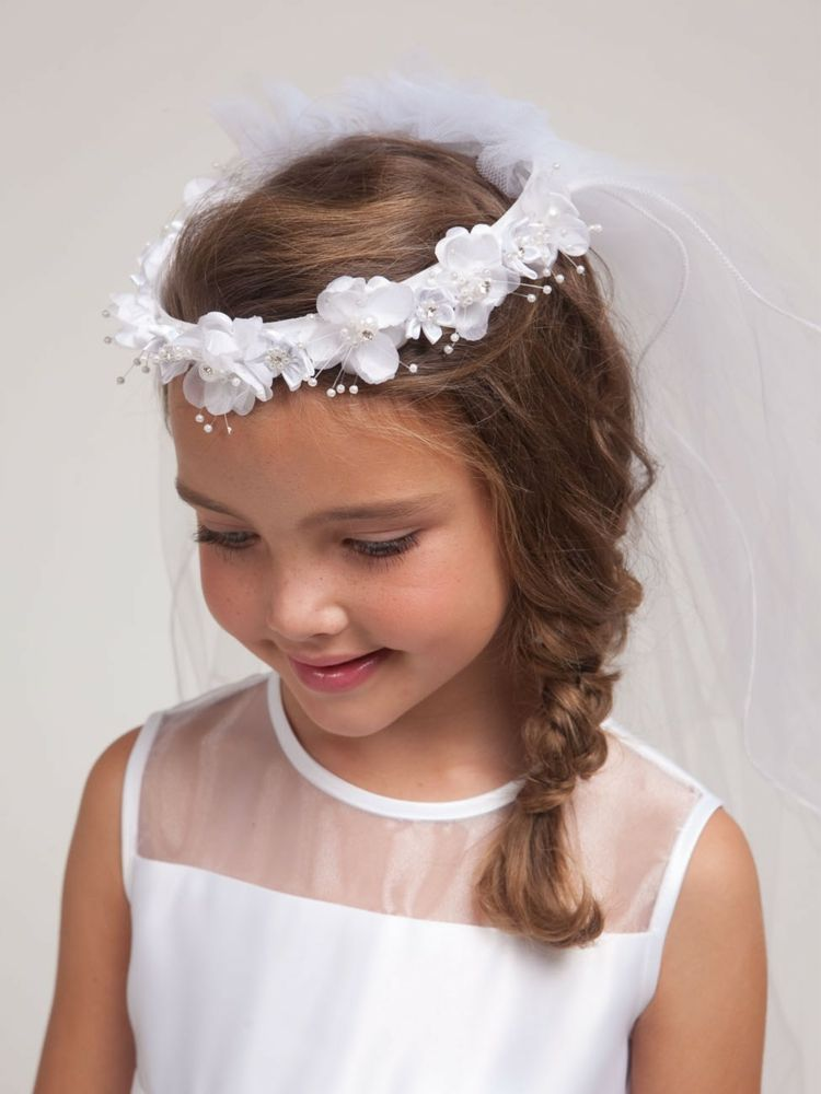 Festliche Kinderfrisuren Mädchen Frisuren Zur Kommunion