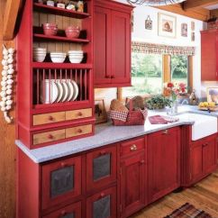Inexpensive Countertops For Kitchens Amazon Undermount Kitchen Sink Best 25+ Red Cabinets Ideas On Pinterest | ...
