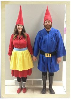 Diy Lady Lawn Gnome Costume Google Search Costumes Pinterest