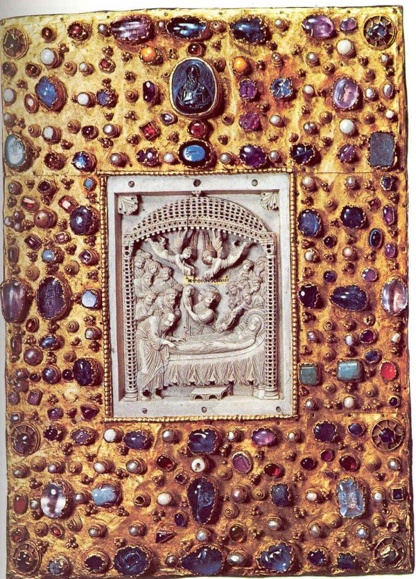 Medieval Book Cover Europe