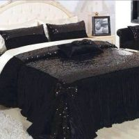 Sequin Bedspread... I'm in love!!