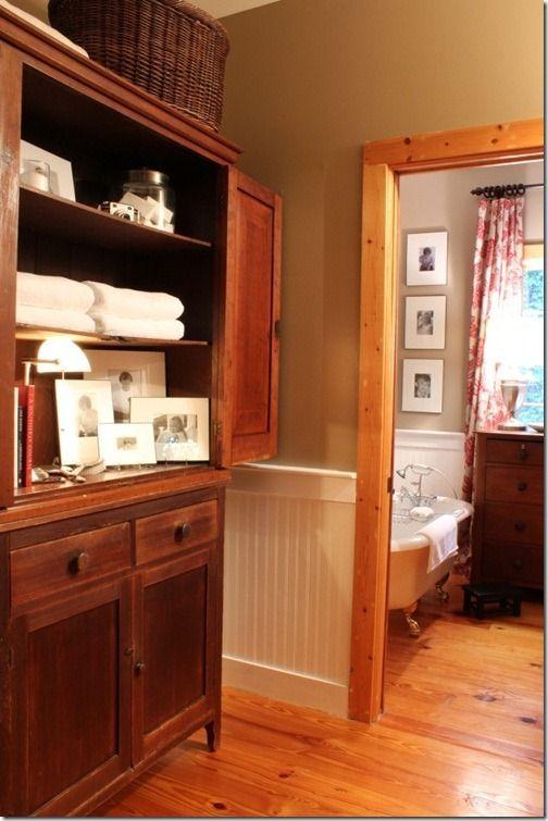 pine trim wall color ideas