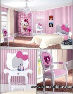Mengagumkan tempat tidur anak perempuan hello kitty furniture kamar jual murah also rh za pinterest