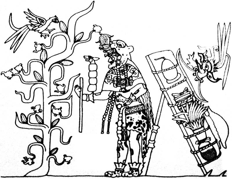 The Maya Merchant God (