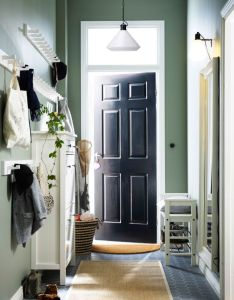 small hallway with bench for shoes mirror shoe cabinet that also rh pinterest