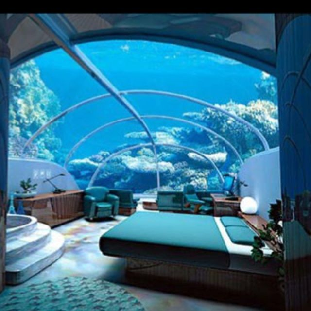 fanciest teen bedroom in the world - google search | underwater