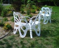 Butterfly Garden Bench Is Absolutely Stunning | Butterfly ...