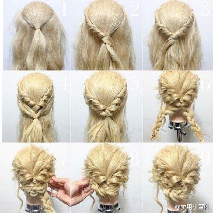Hair Tutorial  Braids  Pinterest  Tutorials, Hair Style