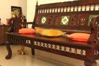 Living room makeover - A Kerala style interior in the ...