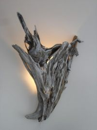 Driftwood Wall Sconce Lighting | Driftwood, Wall sconces ...