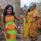 Kente Queen Congratulations Ama