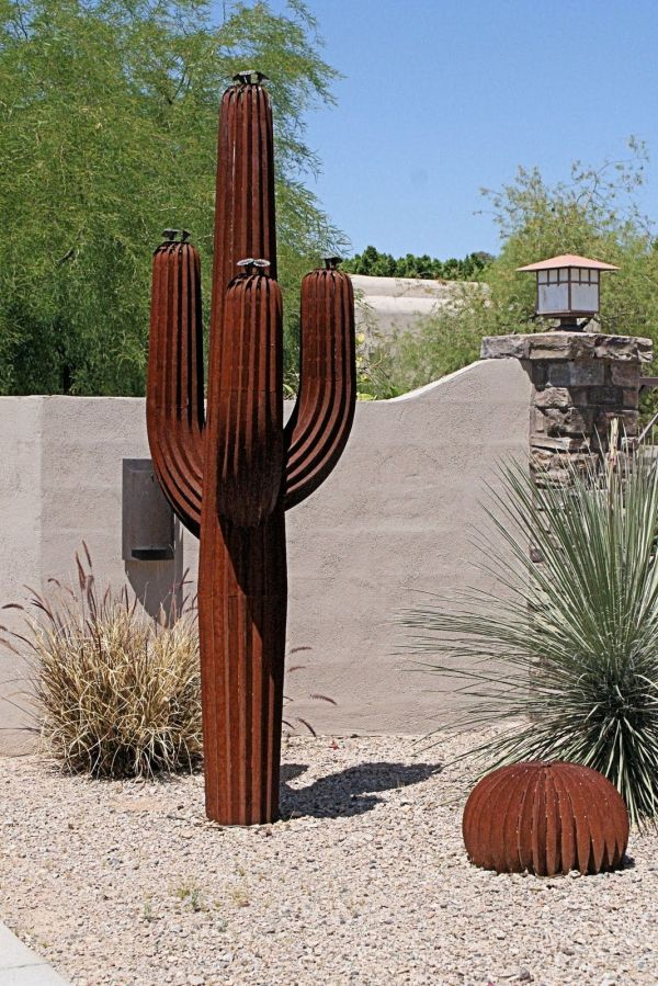 25+ Metal Art Sculptures Desert Landscaping Pictures and