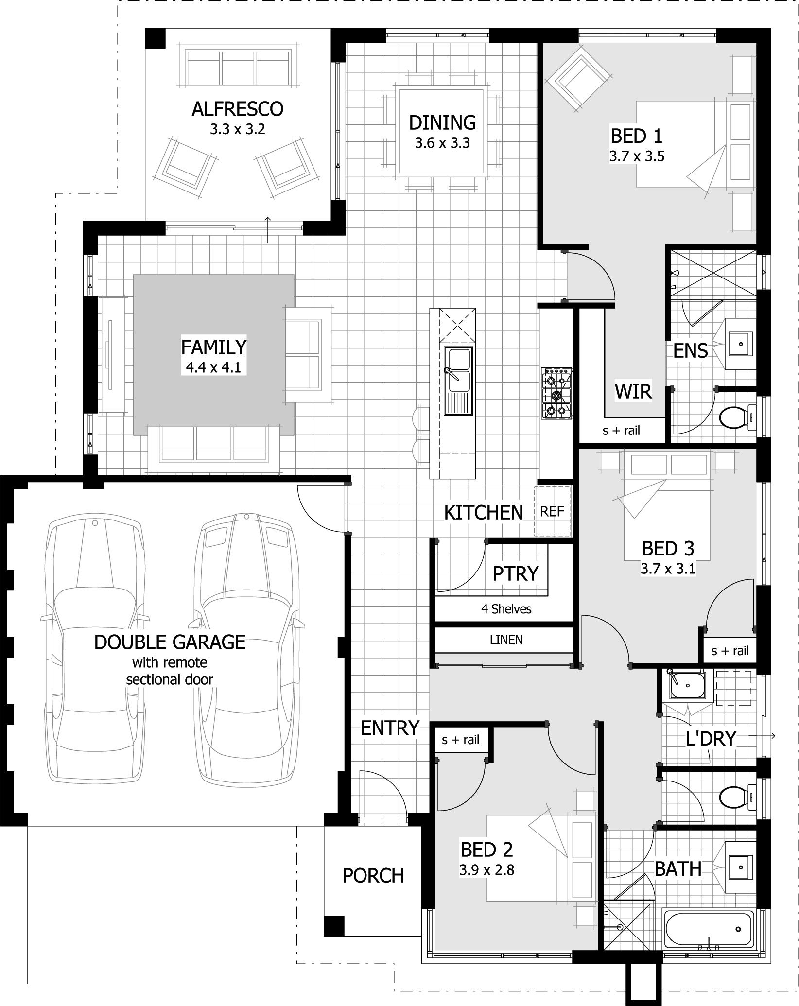 Find A 3 Bedroom Home That's Right For Your From Our Current Range
