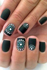 glamorous gel nails design