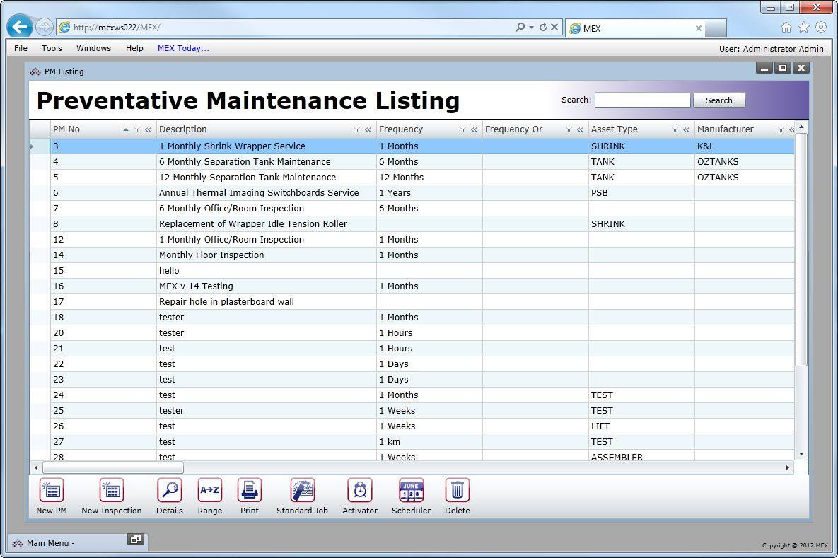 Vehicle Preventive Maintenance Template Excel