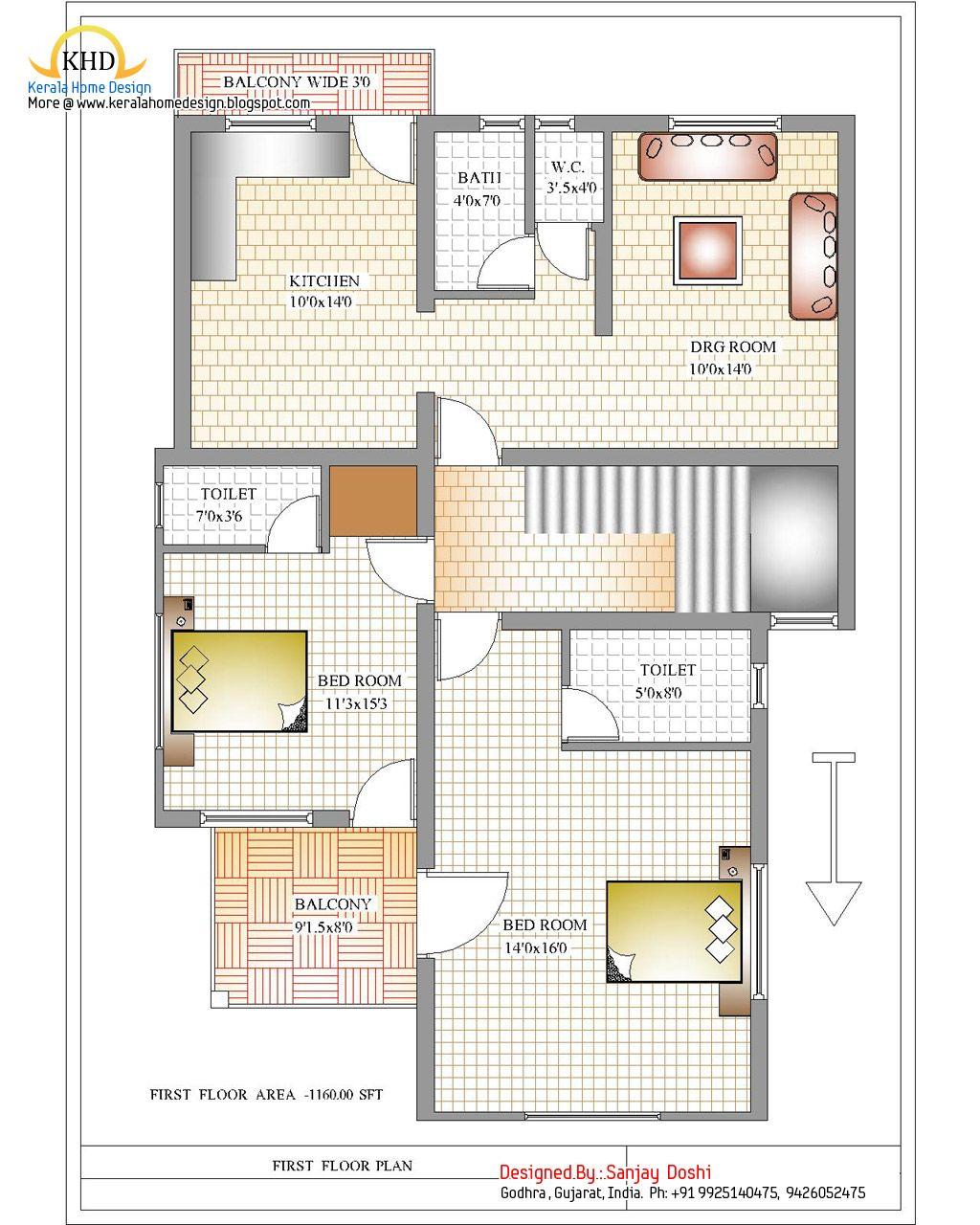 Duplex House Design Plans In India