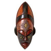 Hand Crafted Ivory Coast Mask - Dan Beauty | NOVICA | Mask ...