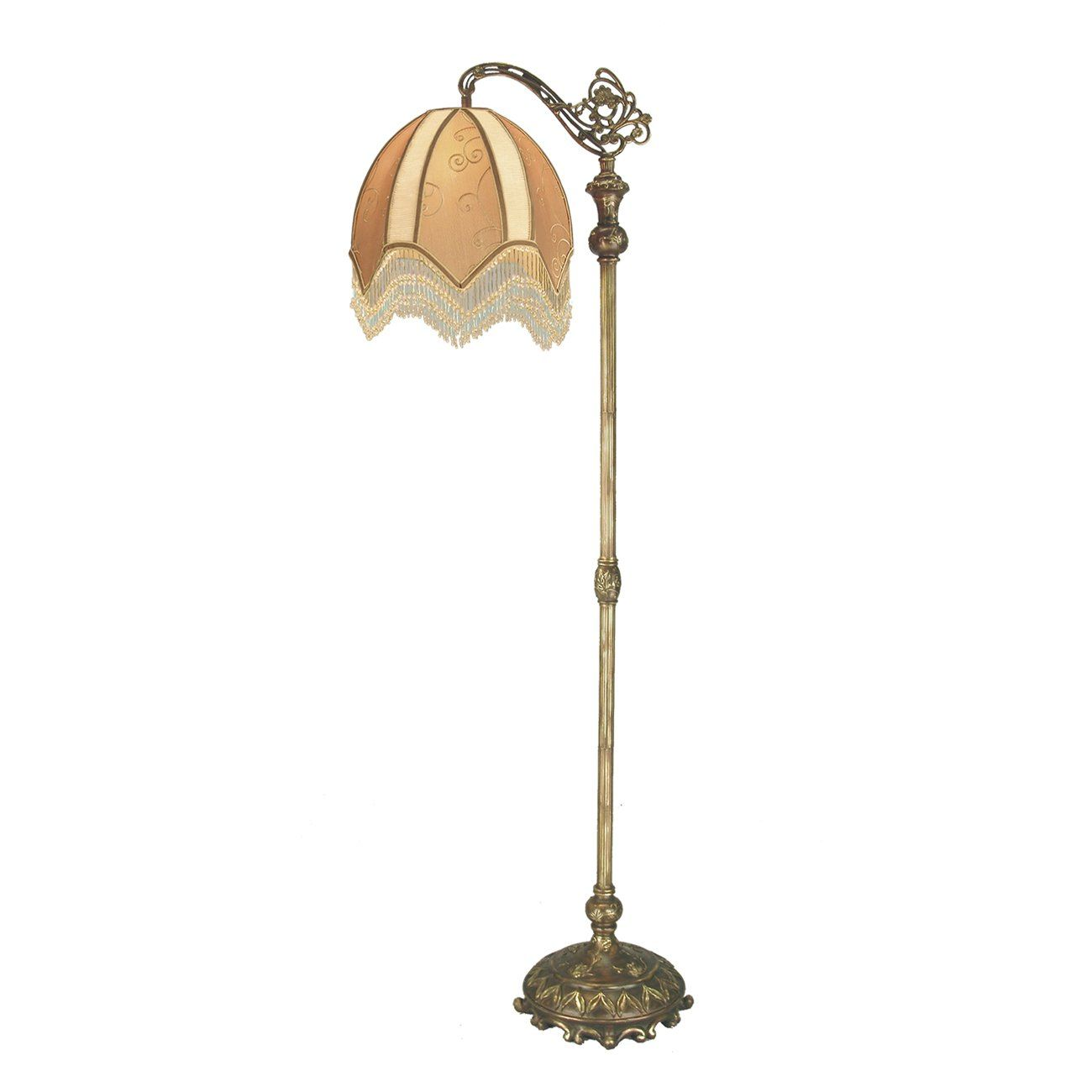 antique victorian beaded floor lamp  Similar Items At ATG