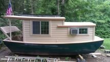 Shanty Boat Float Houses And Rafts Boating