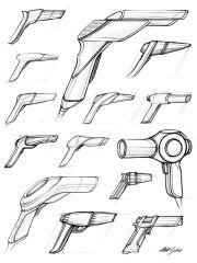 blow dryers - design sketchbook