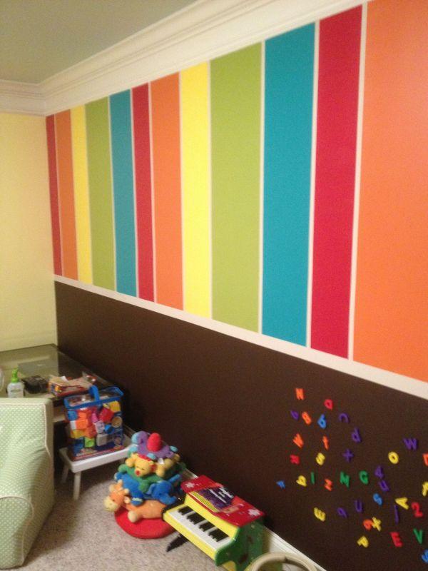 Chalkboard Playroom Paint Ideas