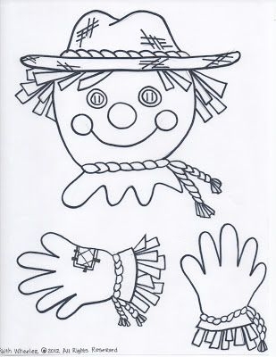 1st Grade Fantabulous: Teachable Thursdays: scarecrow man