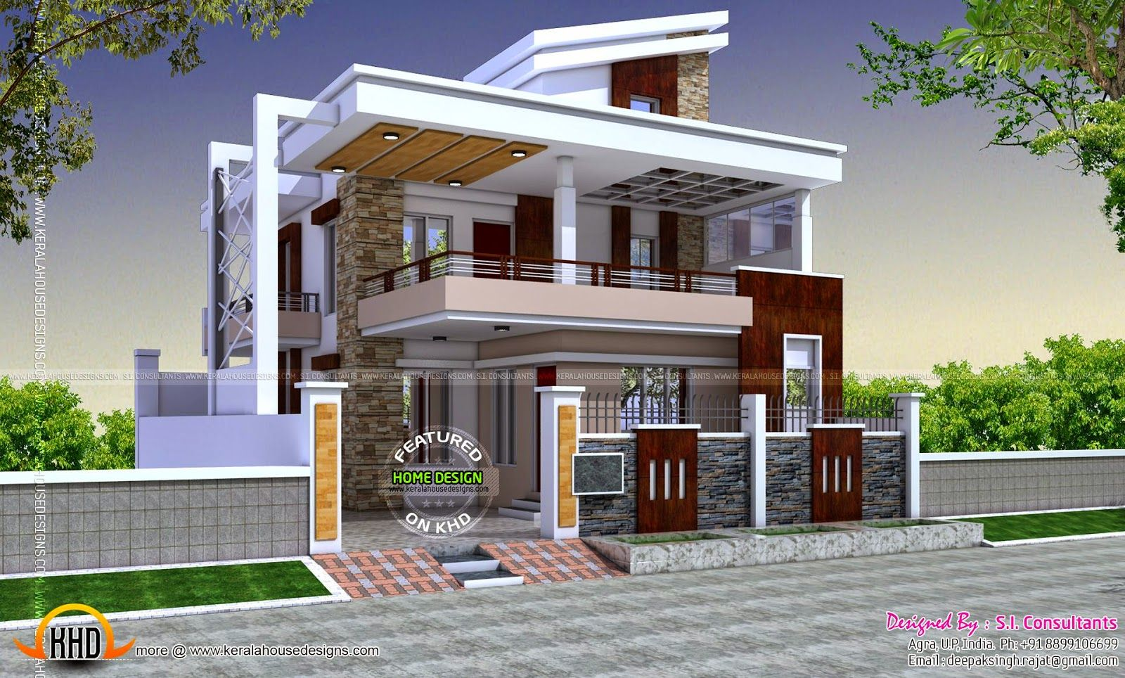Contemporary House Designs India