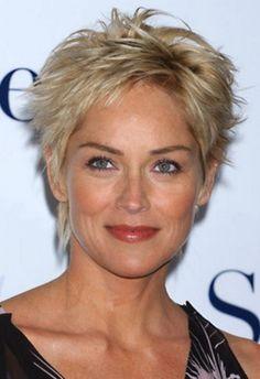 Medium Hairstyles For Women Over 50 Sharon Stone Weeklies And