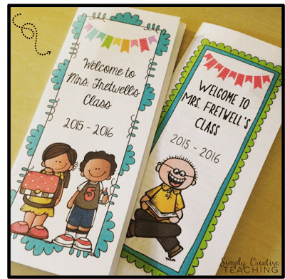 Editable Back To School Brochures Pamphlets Great For Open