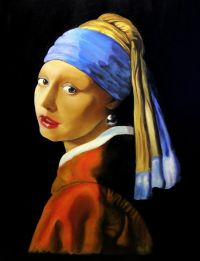 Girl with a Pearl Earring | VRIAS VERSES | Pinterest ...