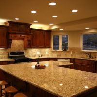 Countertop Backsplash Options Remodel Cherry Cabinetry Photos Kitchen Design Ideas With Granite Of Mobile Hd Pics