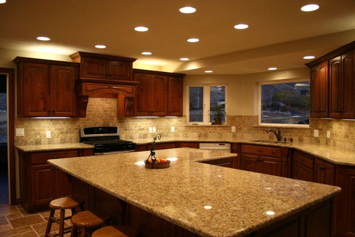 Kitchen Cabinets: Kitchen Design Ideas With Granite Countertops. Countertop Backsplash Options Remodel Cherry Cabinetry Photos Kitchen Design Ideas With Granite Of Mobile Hd Pics
