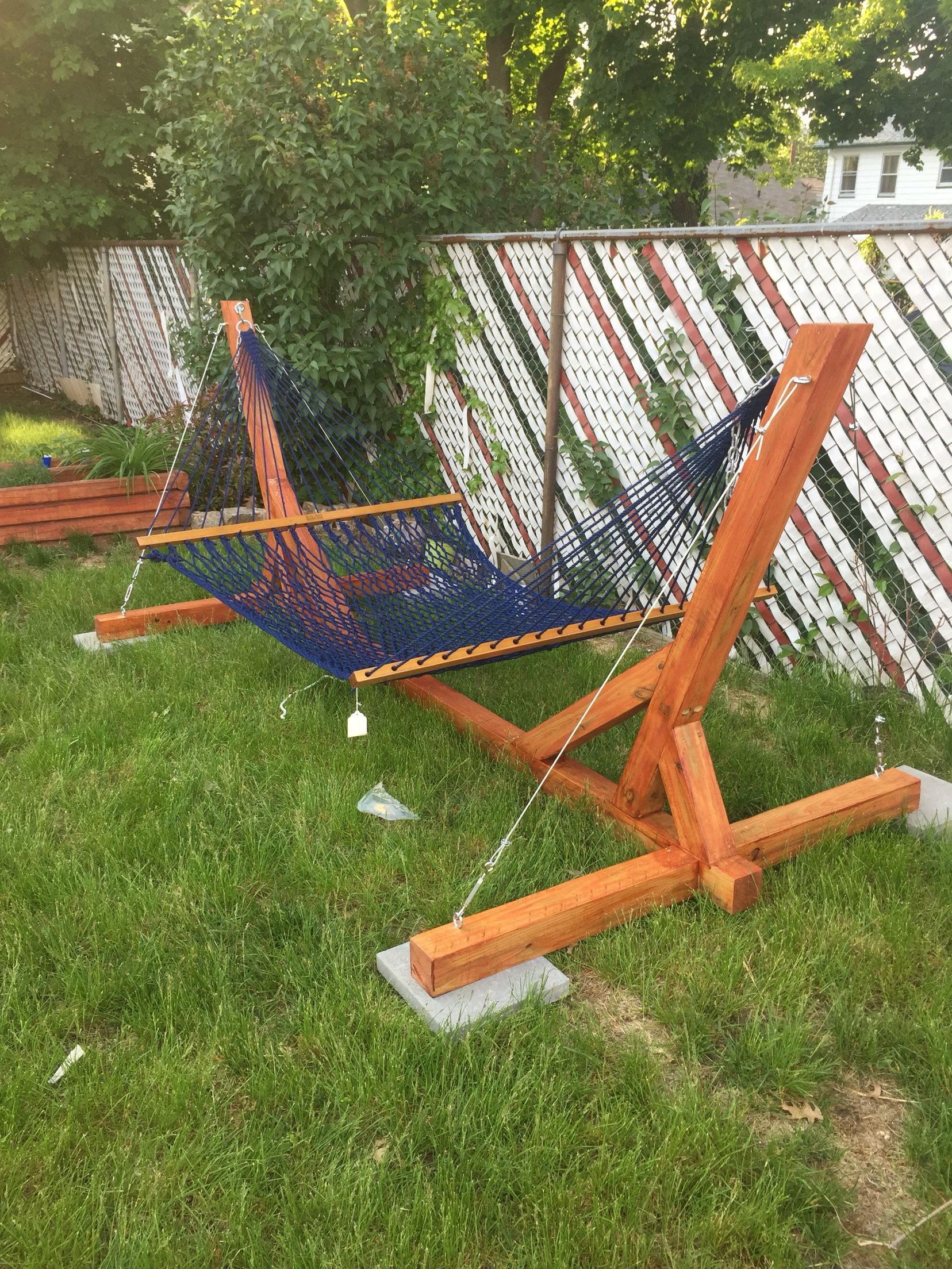 hammock chair frame diy kartell louis ghost stand projects to try pinterest