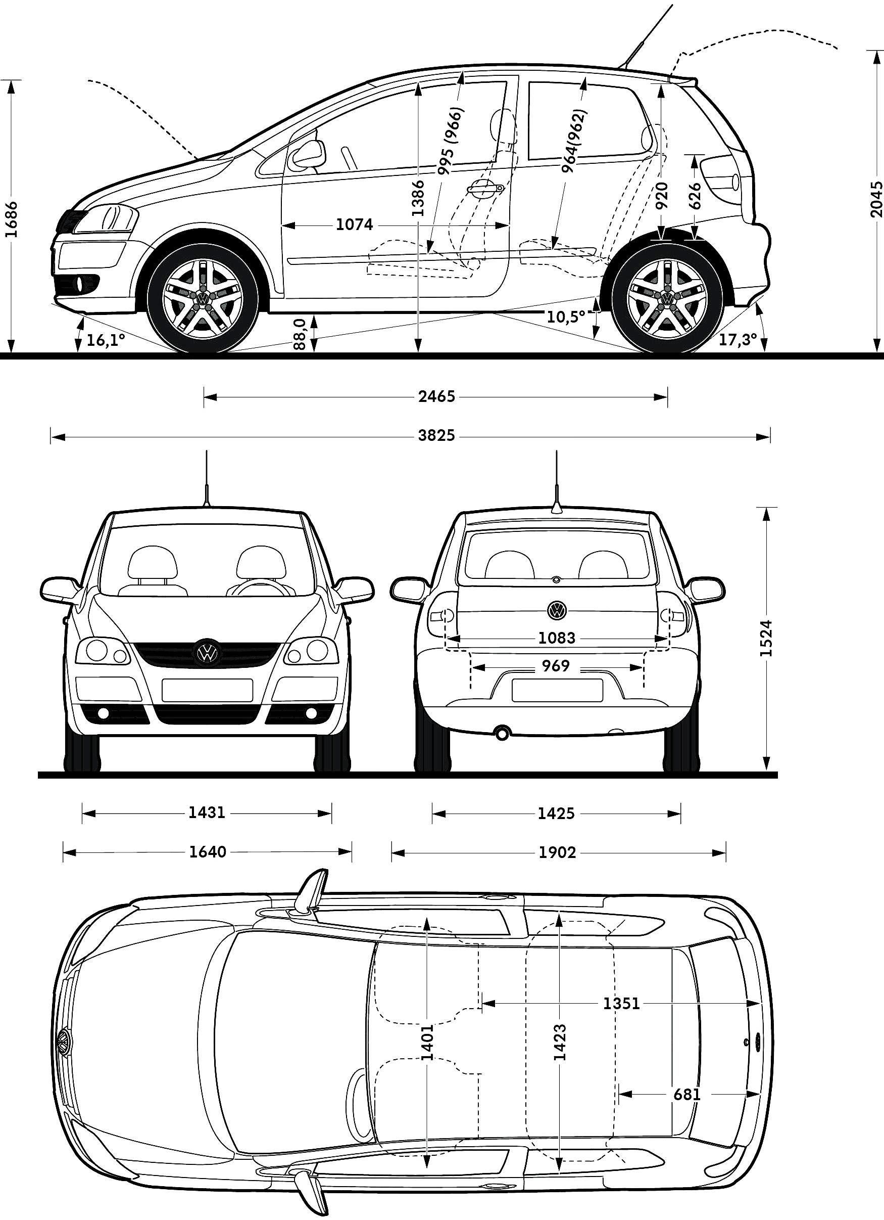 Vw Fox Model Sheet