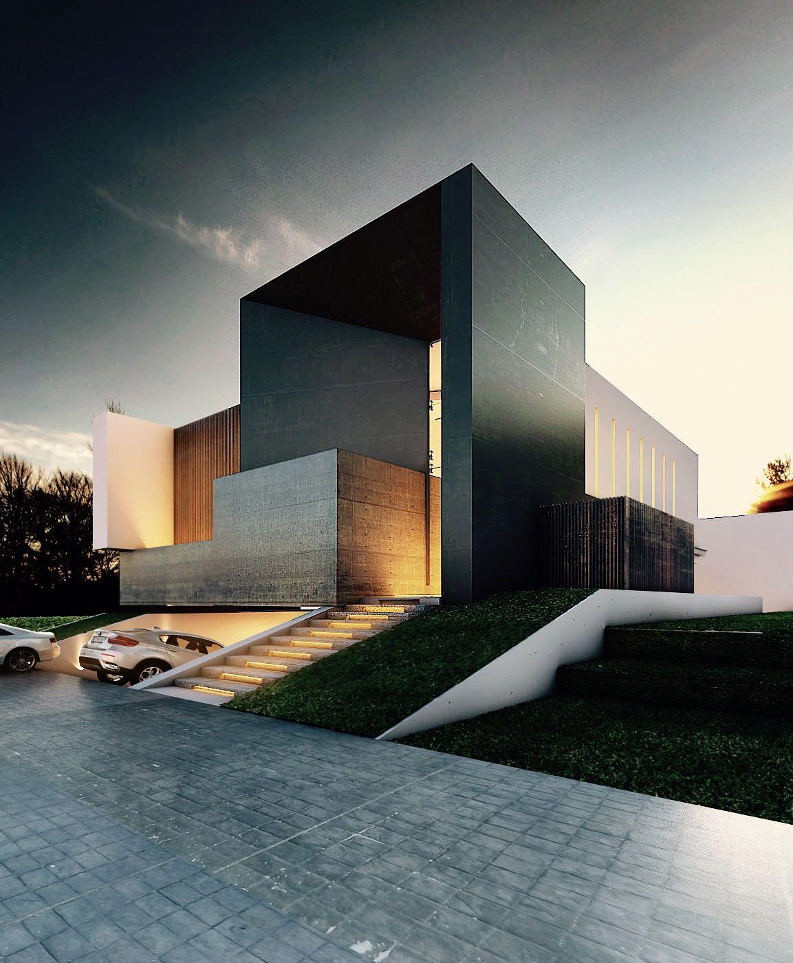 Ms de 25 ideas increbles sobre Arquitectura moderna en Pinterest  Arquitectura residencial