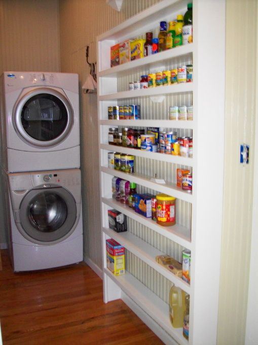 laundry/pantry ideas