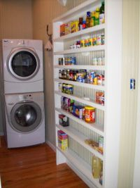 laundry/pantry ideas | ... pantry into a combo laundry ...