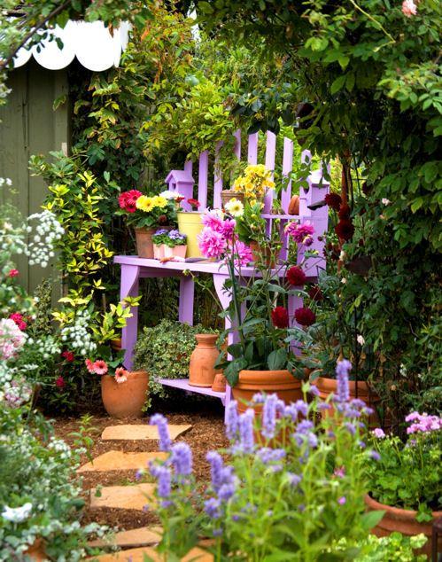 Romantique Jardins Pinterest Jardins Jardins Secrets Et