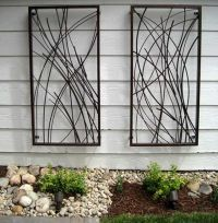 metal garden wall art | Products I Love | Pinterest ...