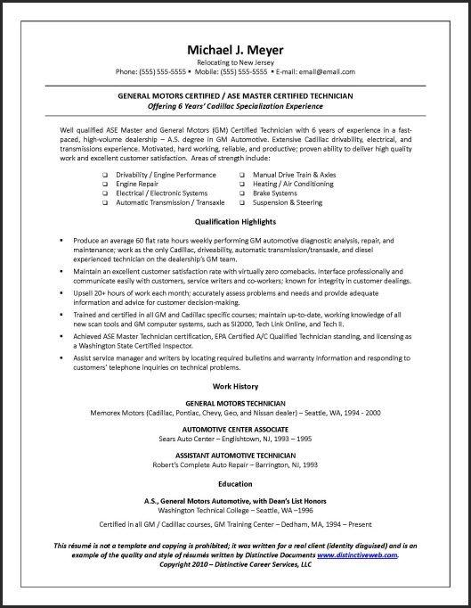 an example of a resume jianbochen com