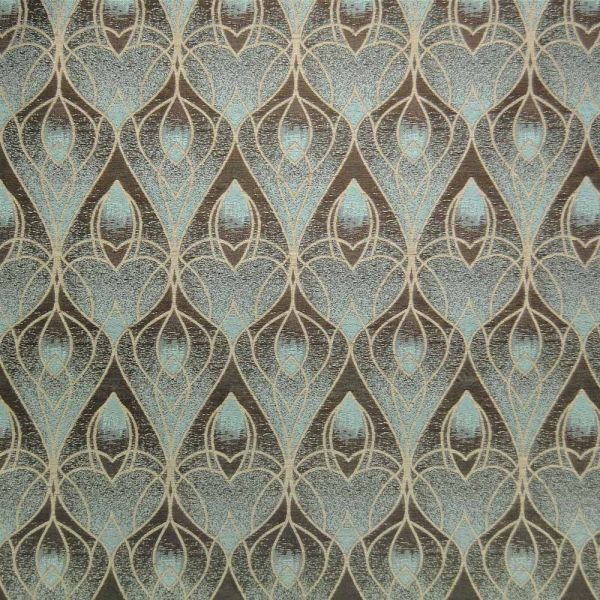 Art Deco Nouveau Curtain And Upholstery Fabric